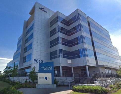 Region of York Office Building at 9060 Jane St, Vaughan